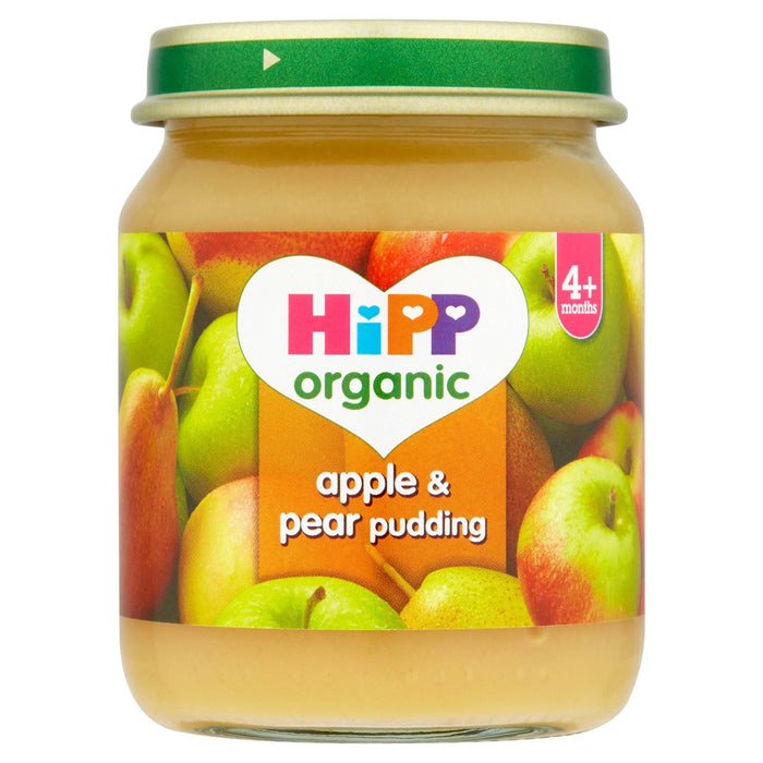 HiPP Organic Apple & Pear Pudding 4+ Months 125g