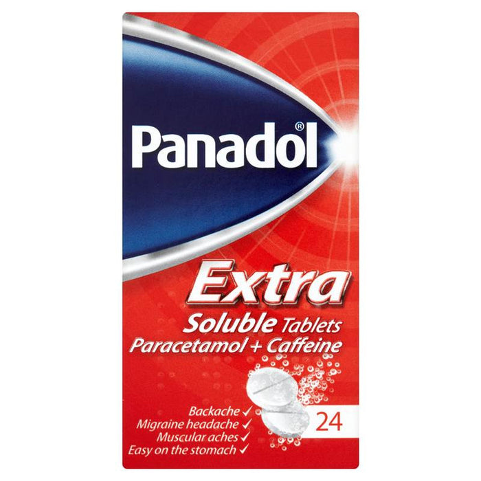 Panadol Extra Soluble Tablets 24 Tablets