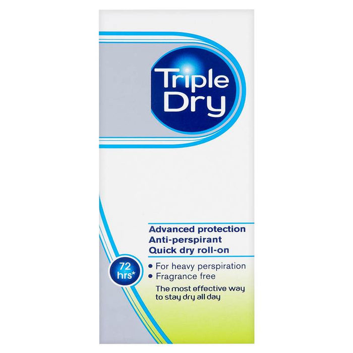 Triple Dry Advanced Protection Anti-Perspirant Quick Dry Roll-On 50ml