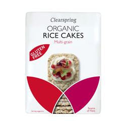 Clearspring Org 3-Grains thin Rice Cakes 130 g