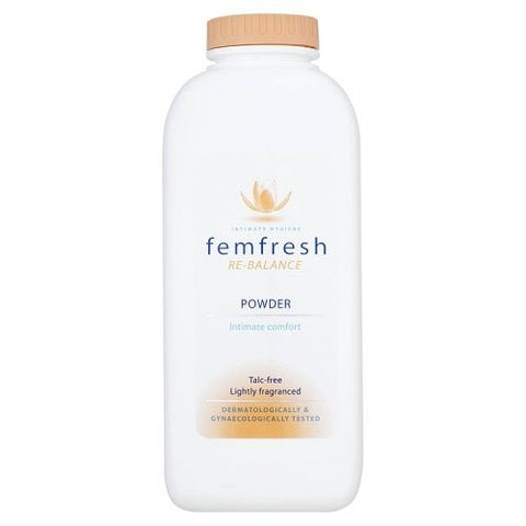 Femfresh Lightly Fragranced Absorbent Body Powder For Intimate Hygiene - 200G