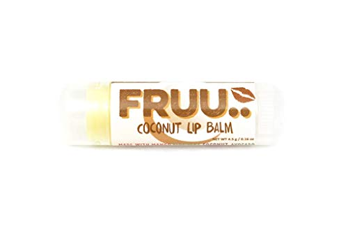Fruu - Fruity Lip Balms Organic Coconut 4.3g
