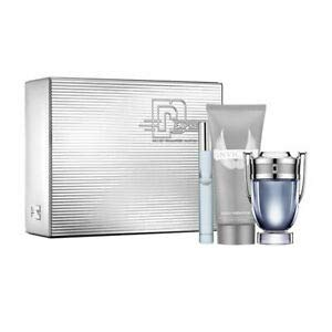 Paco Rabanne Invictus Gift Set 50ml EDT + 10ml EDT + 100ml Shower Gel