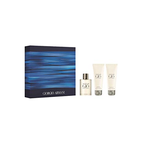 Giorgio Armani Acqua Di Gio Pour Homme Gift Set 50ml EDT + 75ml Shower Gel + 75ml Aftershave Balm