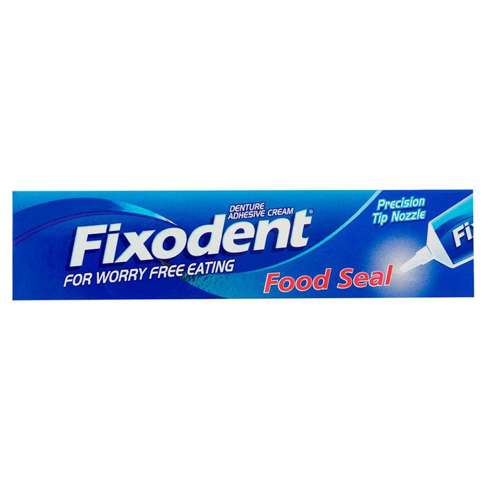 Fixodent Food Seal Denture Adhesive Cream 40g