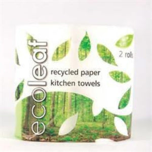 Suma Ecoleaf 3 Ply Kitchen Towel Twin roll pack Pack