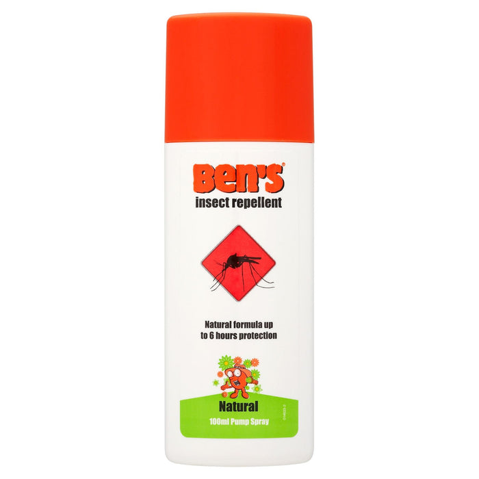 Ben's Effective Natural Insect Repellent Pump Spray 100ml