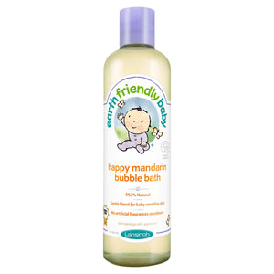 Earth Friendly Baby ECOCERT Happy Mandarin Bubble Bath 300ml