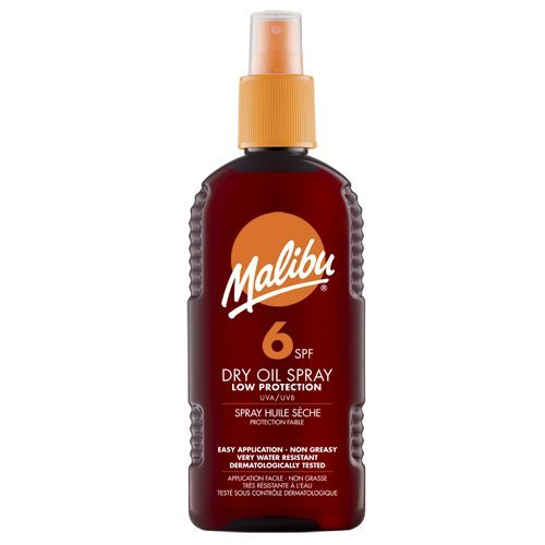 Malibu Sun Dry Oil Spray 200ml SPF6