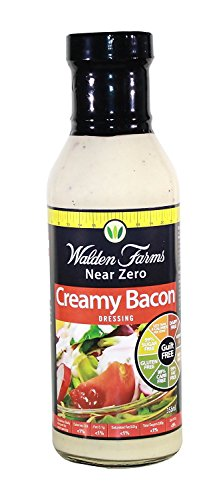 Walden Farms Calorie Free Salad Dressing 355ml Creamy Bacon