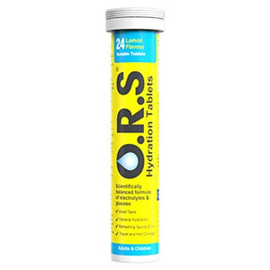 Best Price on O.R.S Hydration Electrolyte Tablets Lemon Tube of 24