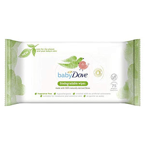 Brand new Baby Dove Biodegradable Wipes