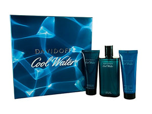 Best Price on Davidoff Cool Water Gift Set 125ml EDT + 75ml Aftershave Balm + 75ml Shower Gel