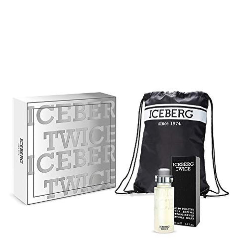Iceberg Twice Pour Homme Gift Set 125ml EDT + String Bag