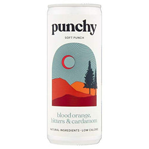 Punchy Soft Punch Golden Hour 250ml | Blood Orange, Bitters & Cardamom