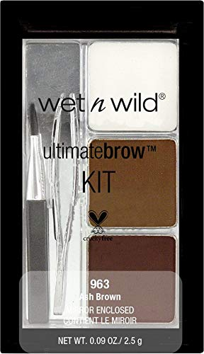 Brand new Wet 'n' Wild Ultimate Brow Kit 2.5g - Ash Brown