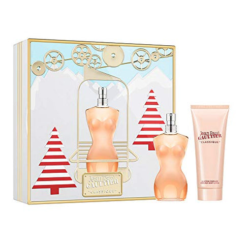 Jean Paul Gaultier Classique Gift Set 50ml EDT + 75ml Body Lotion - Christmas Edition