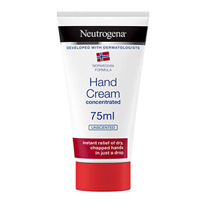 Best Price on Neutrogena Norwegian Formula Hand Cream Concentrated Unscented 75 ml Immediate and Lasting Relief, 300 Applications