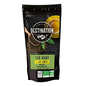 Destination Organic Green Earl Grey Tea in 80g