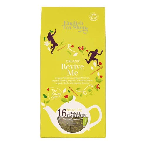English Tea Shop Org. Revive Me Tea - 16ct Soilon Pyramid