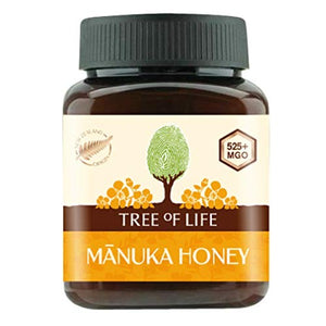 Tree of Life 525+ MGO Manuka Honey, 250 g