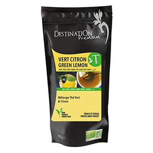 Destination Organic Green Lemon Tea 100g