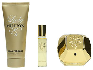 Best Price on Paco Rabanne Lady Million Gift Set 80ml EDP + 10ml EDP + 100ml Body Lotion