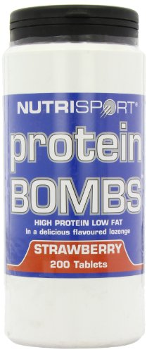 NutriSport Protein Bombs 200 count Strawberry