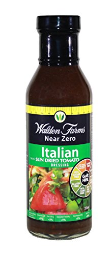 Walden Farms Calorie Free Salad Dressing 355ml Italian w/Sun Dired Tomato