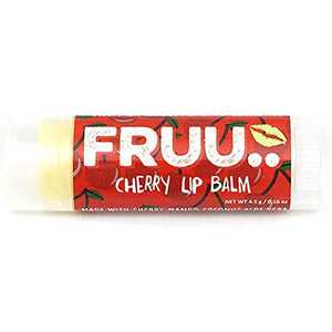 Fruu - Fruity Lip Balms Organic Cherry 4.3g