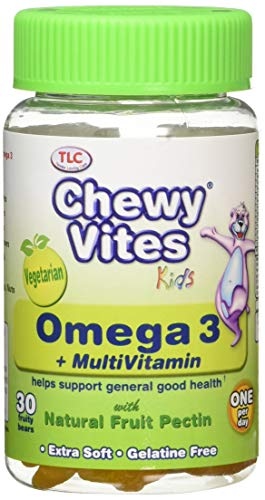 Chewy Vites Kids Omega 3 + Multivitamin 30 Gummies