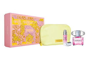 Versace Bright Crystal Gift Set 90ml EDT + 10ml EDT + Pouch