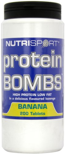 NutriSport Protein Bombs 200 count Banana