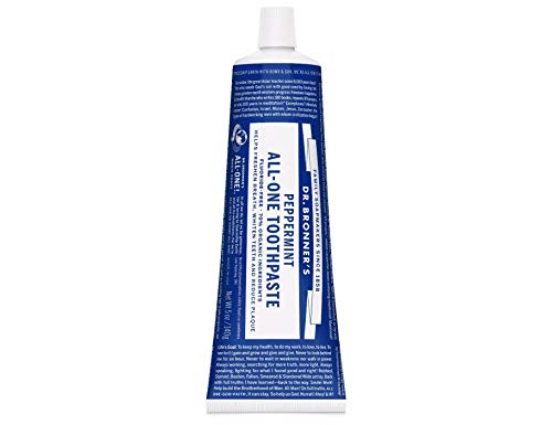 Dr Bronner Peppermint Toothpaste 148ml