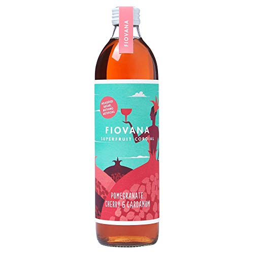Fiovana Drinks Pomegranate Cherry & Cardamom Superfruit Cordial