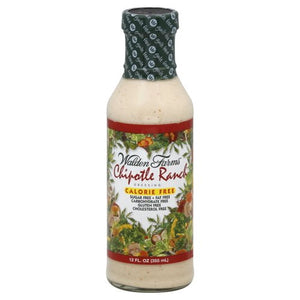 Walden Farms Calorie Free Salad Dressing 355ml Chipotle Ranch