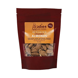 2Die4 Organic Activated Almonds 100g