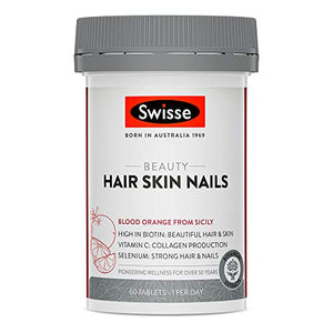 Swisse  Beauty Hair Skin Nails Tablets 60s