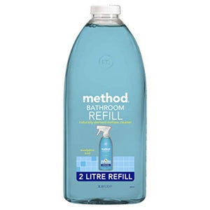 Method Eucalyptus Mint Bathroom Cleaner Refill 2 Litre