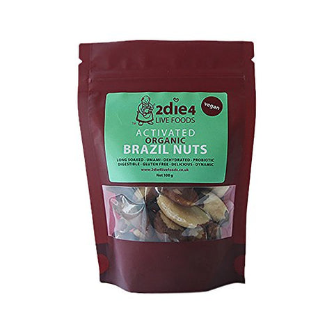 2Die4 Organic Activated Brazils 100g