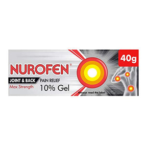 Best Price on Nurofen Gel Joint and Back Ibuprofen, 10 Percent, 40 g