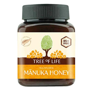 Tree of Life 85+ MGO Manuka Honey Multifloral, 250 g