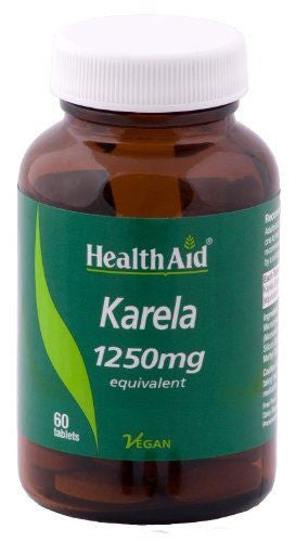 HealthAid Karela Extract 1250mg 60 Tablet