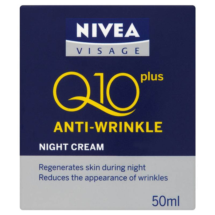 NIVEA® Q10 Plus Anti-Wrinkle Night Cream 50ml