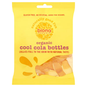Biona Organic Cool Cola Bottles 75g