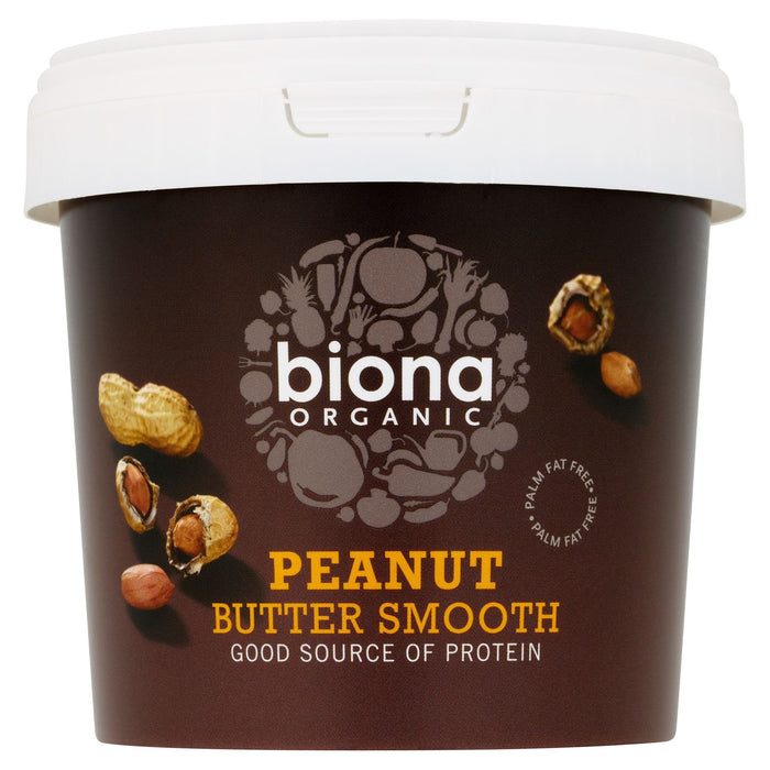 Biona Organic Peanut Butter Smooth 1kg