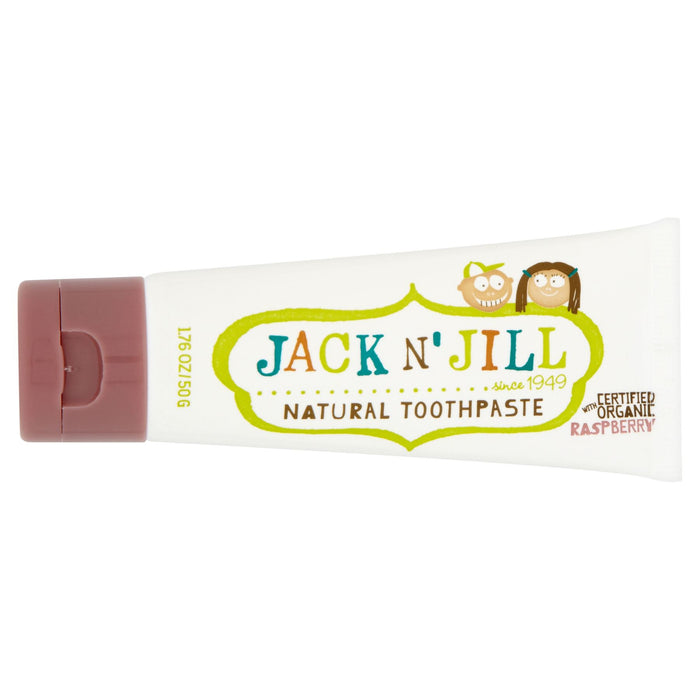 Jack n' Jill Natural Toothpaste with Certified Organic Raspberry 50g