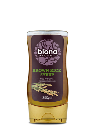 Biona Organic Brown Rice Syrup Natural Sweetener 350g
