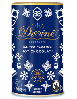 Divine Fairtrade Salted Caramel Flavoured Hot Chocolate 300g