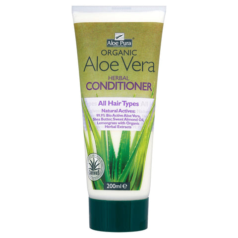 Aloe Pura Organic Aloe Vera Herbal Conditioner 200ml at HealthPharm Online Superstore by Ransom